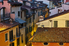Vintage living Italian houses Royalty Free Stock Images