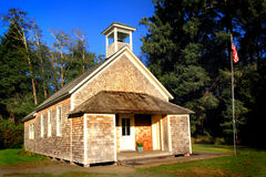 Charming Old School House Royalty Free Stock Image
