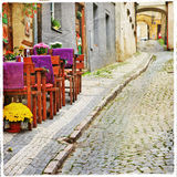 Charming old  streets Royalty Free Stock Photography
