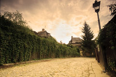 Charming old village Royalty Free Stock Image