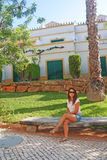 Charming places; corners of the Algarve. Stock Photos