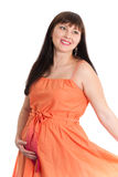 Charming pregnant lady Royalty Free Stock Photo