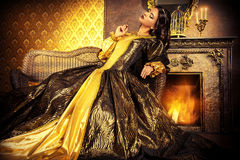 Charming royal Royalty Free Stock Images