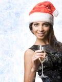 Charming Santa Stock Images