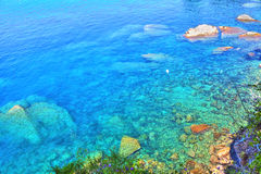 Charming seascape at the Italian Riviera Stock Photo