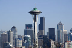 Seattle city skyline royalty free stock images