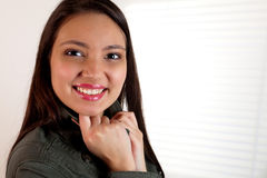 Charming smile Stock Photo