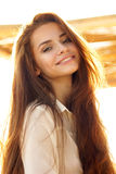 Charming smile Stock Images