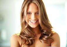 Charming smile Royalty Free Stock Photos