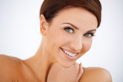 Charming smiling beautiful woman Royalty Free Stock Photo