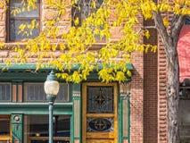 Charming street scene. Inviting street scene, Durango, Colorado Stock Photo