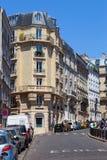 Charming streets of Paris Royalty Free Stock Photos