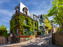 Charming streets of Paris Royalty Free Stock Image