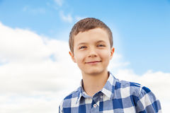 Charming Teenage Boy Royalty Free Stock Photos