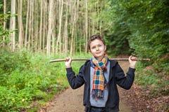 Charming Teenage Boy Stock Images
