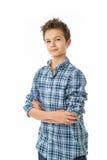 Charming Teenage Boy Royalty Free Stock Photo