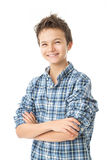 Charming Teenage Boy Stock Images