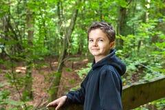 Charming Teenage Boy Stock Photography