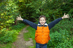 Charming Teenage Boy Stock Photo