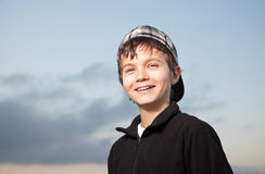 Charming Teenage Boy Royalty Free Stock Image