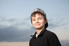 Charming Teenage Boy Royalty Free Stock Photo