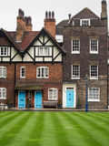 Charming Traditional English Houses Royalty Free Stock Photos