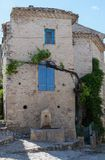 Charming Vaison la Romaine Stock Photography