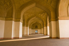 Charming view of mausoleum in Agra Stock Photography