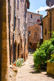 Charming village, with narrow streets Royalty Free Stock Photo