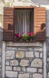 Charming window Royalty Free Stock Photos