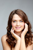 Charming woman Stock Images