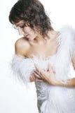 Charming woman royalty free stock image