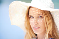 Charming woman Royalty Free Stock Photos
