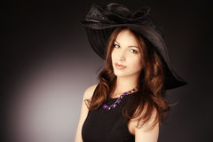 Charming woman royalty free stock photography
