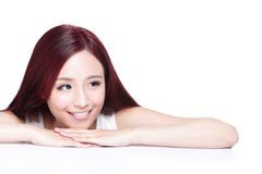 Charming woman Smile face Royalty Free Stock Photo