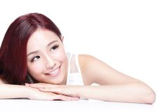Charming woman Smile face Royalty Free Stock Photography