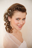 Charming young bride Stock Photo
