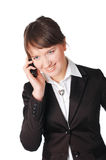Charming young business woman Stock Photography