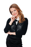 Charming young businesswoman Royalty Free Stock Images