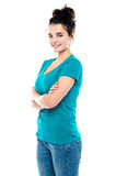 Charming young caucasian pretty teenager Stock Photography