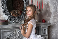 Charming young princess Royalty Free Stock Images