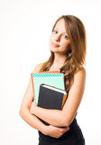 Charming young student. Stock Images