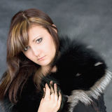 Charming young woman Royalty Free Stock Photography