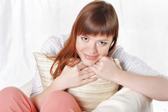 A charming young woman Royalty Free Stock Image