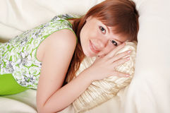 A charming young woman Royalty Free Stock Photos