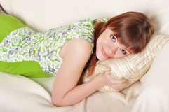 A charming young woman Stock Image