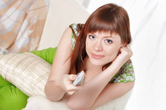 A charming young woman Royalty Free Stock Images