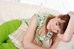 A charming young woman Stock Photography