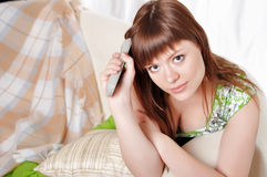 A charming young woman Stock Photo
