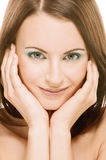 Charming young woman Stock Image